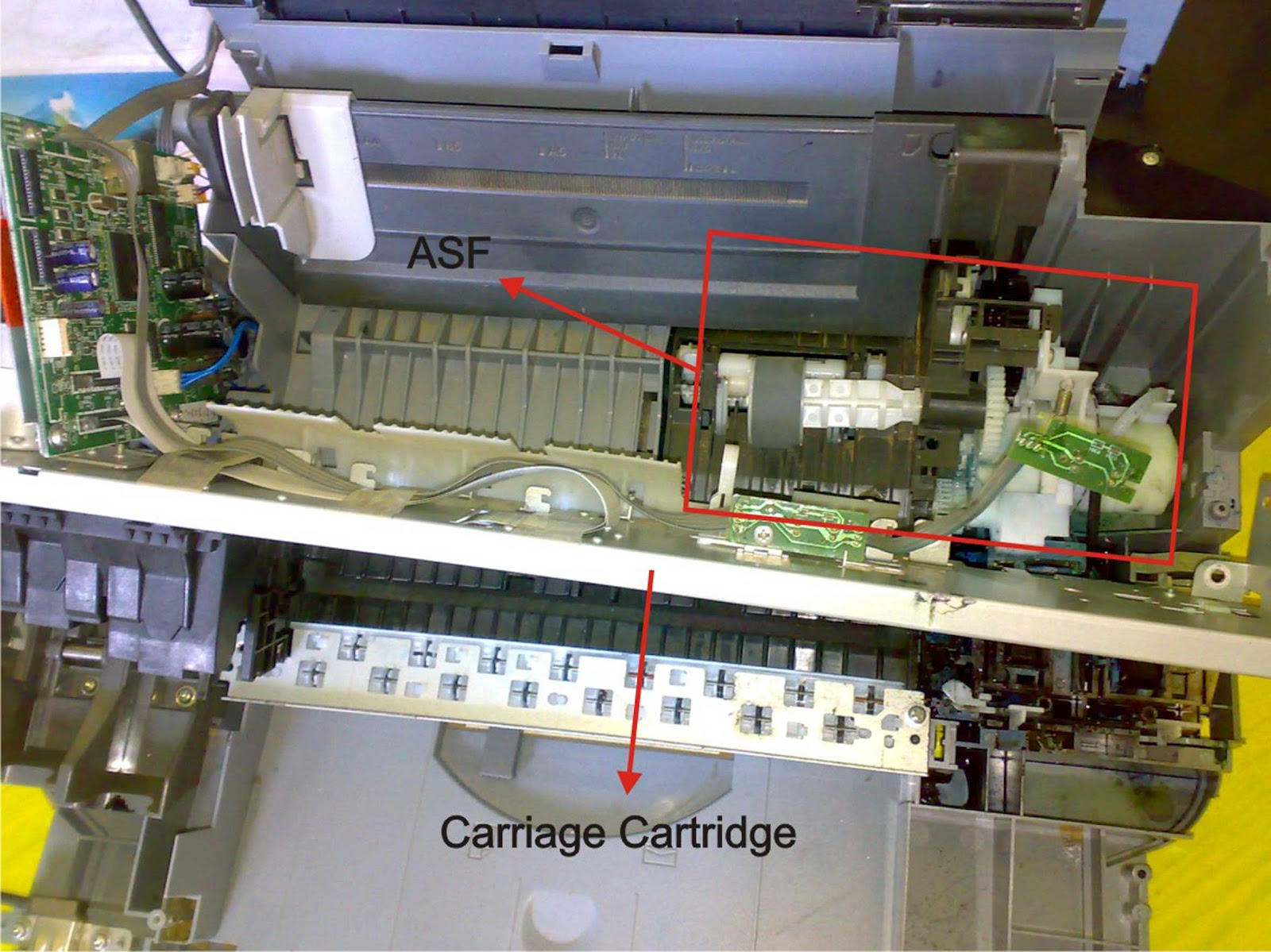 how to fix canon mp160