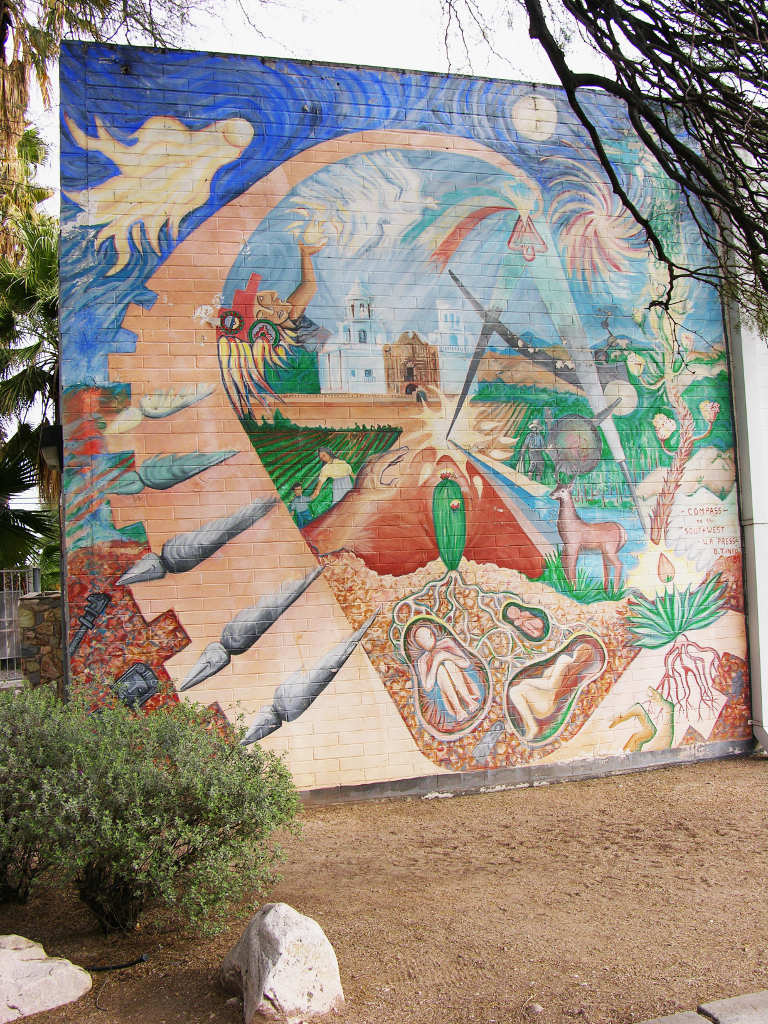 Southwestern wall murals wall murals ideas the tucson murals project pass to the southwest amipublicfo Choice Image