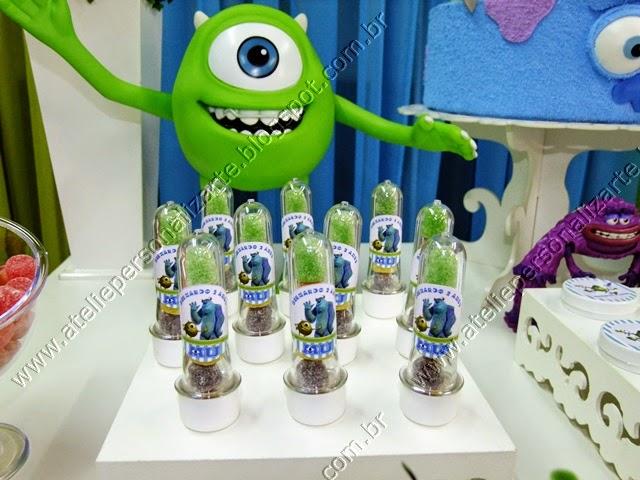 Decoração de festa infantil Universidade Monstros