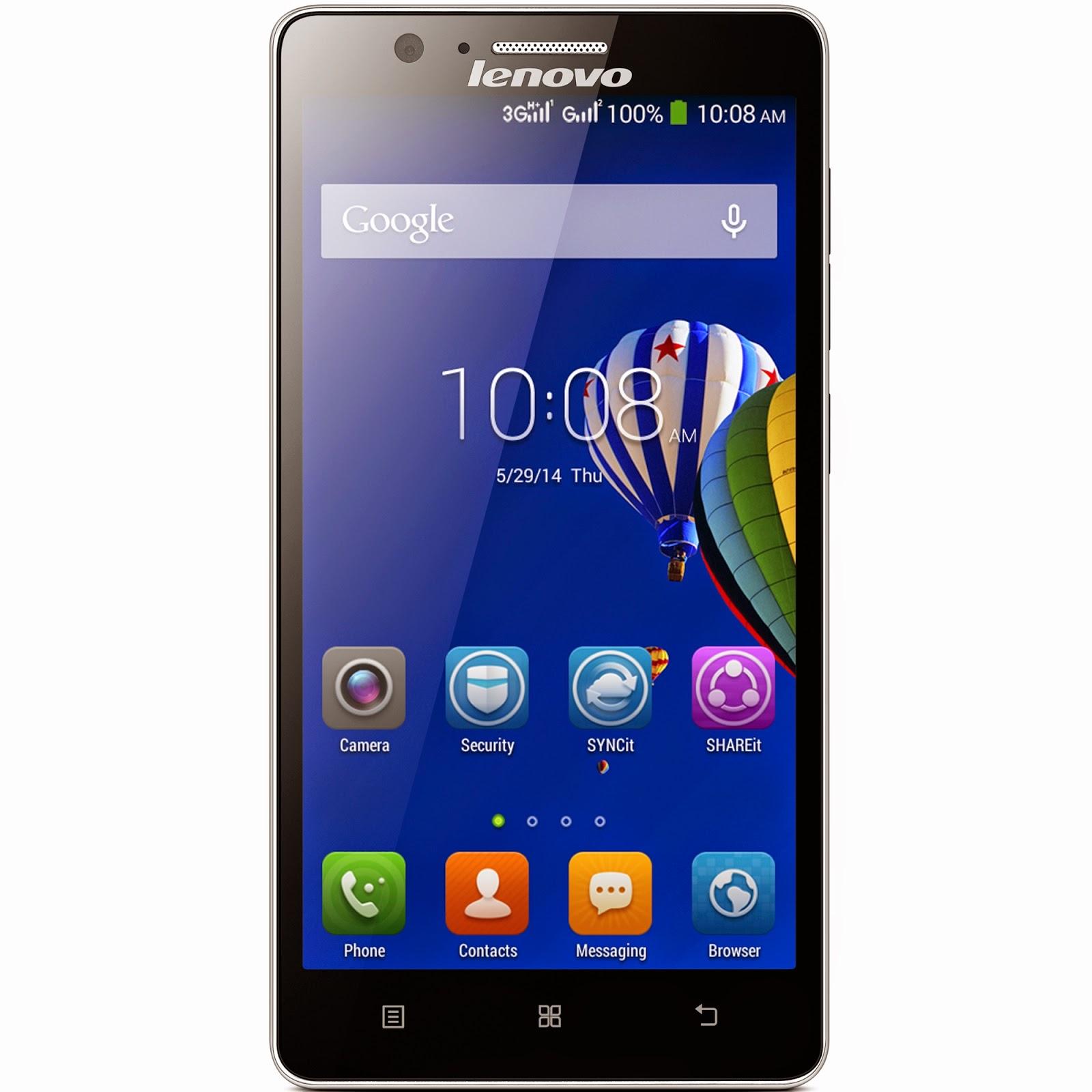 Lenovo A536, Smartphone Lenovo Dengan Android Kitkat