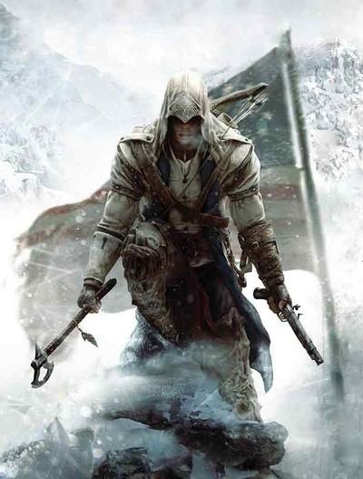 Assassin's Creed 3 box art Xavier Thomas