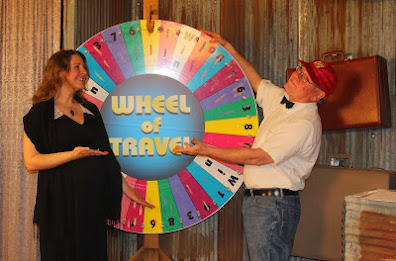 The first episode of KLUK TV's newest show, Wheel of Travel