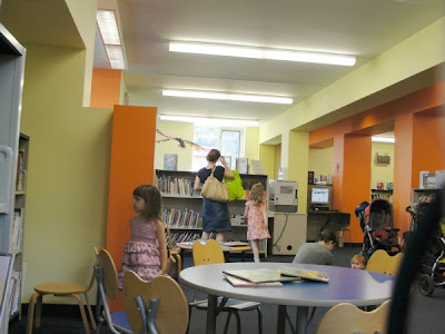 inside high park branch