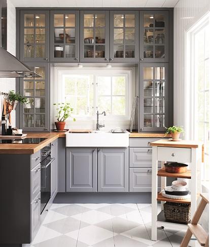 Decoraci n f cil muebles de cocina de ikea 2014 for Muebles de cocina clasicos