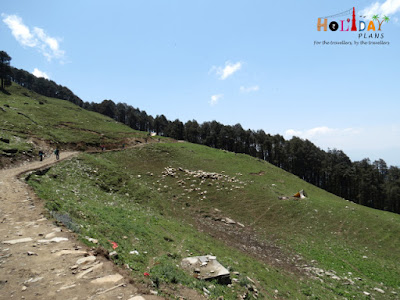 Starting point of trek to Serolsar Lake
