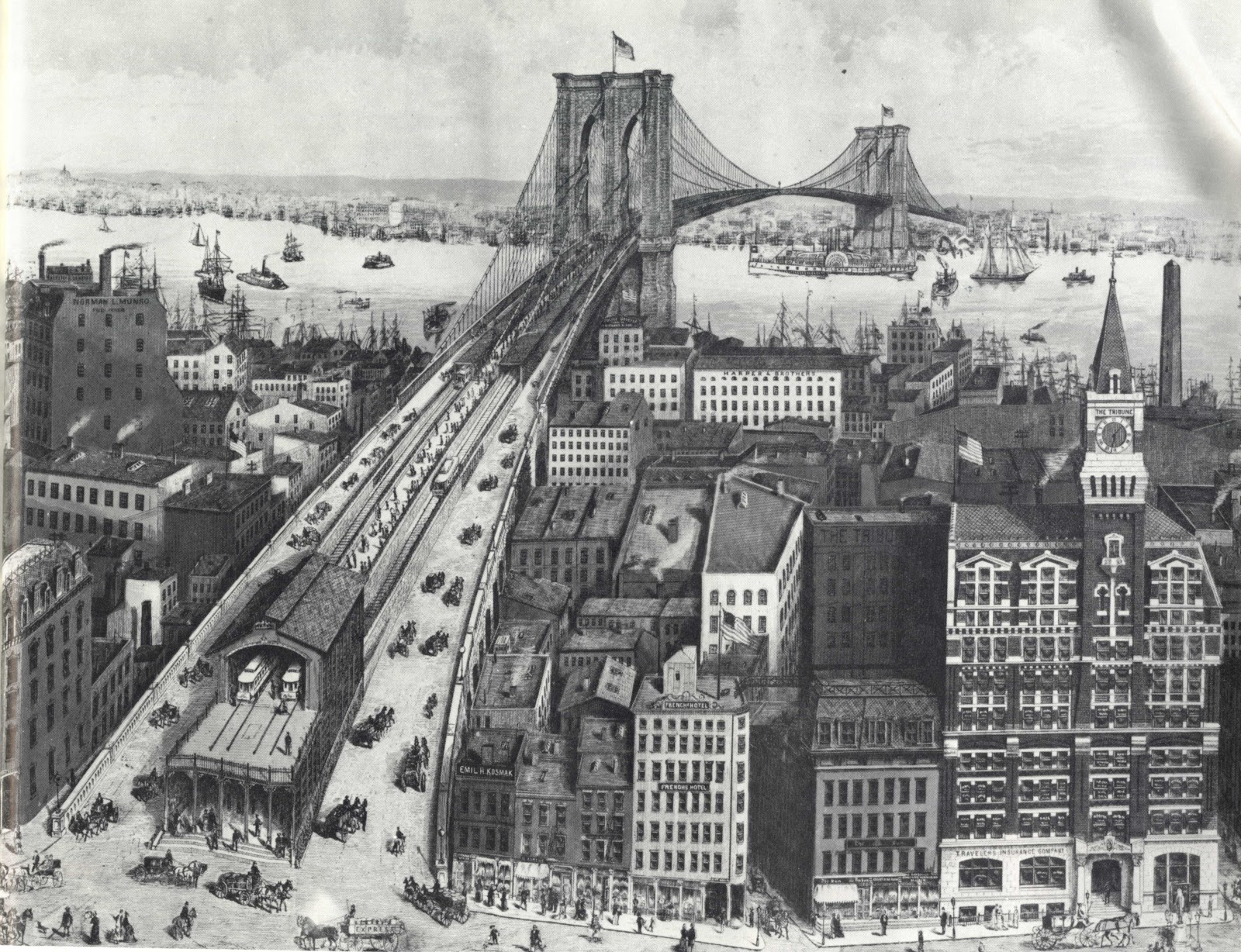 the history of the brooklyn bridge Find out more about the history of brooklyn bridge, including videos, interesting articles, pictures, historical features and more get all the facts on historycom.