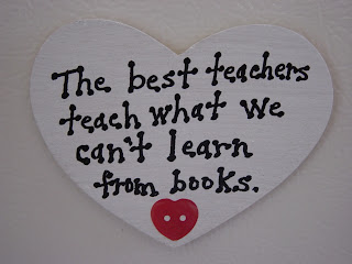The Best Teachers Teach What We Can't Learn From Books