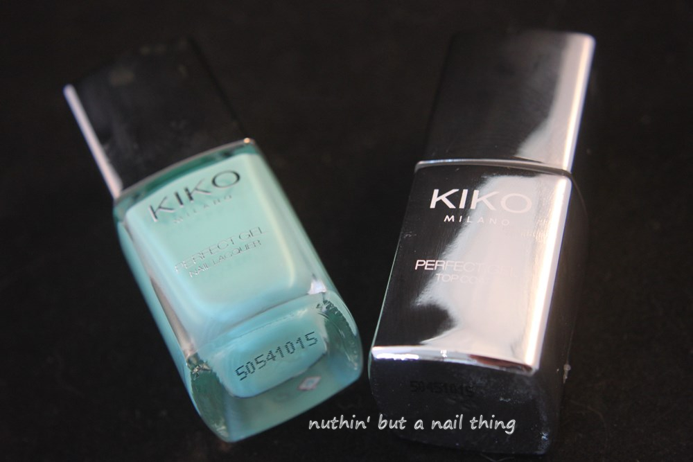 Kiko Milano Perfect Gel Duo - Mint Milk