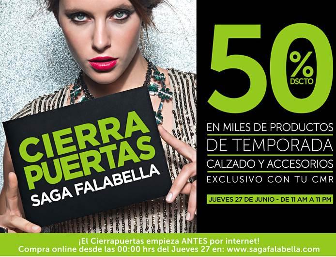 Cierra puertas saga falabella 27 junio 2013 ofertas de peru for Saga falabella ofertas