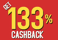 Amazon trick:133% CashBack on purchase of Rs.300:buytoearn