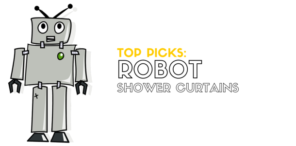 Top-Rated Robot Shower Curtains