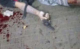 Assaltante é morto segurando arma do crime na zona sul da capital