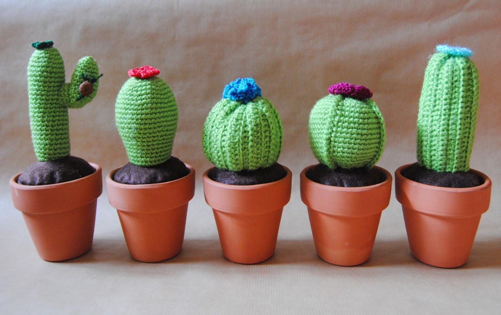 Amigurumi Cactus Tejido A Crochet Regalo Original : DIY: Cactus de ganchillo Handbox Craft Lovers ...