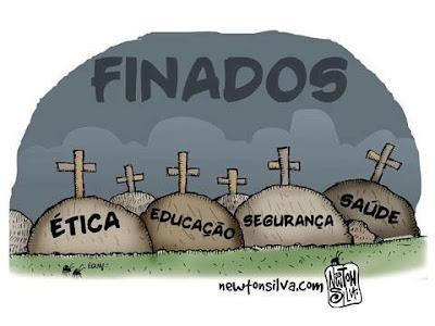 com o dia de finados morreram a ética educação segurança saúde