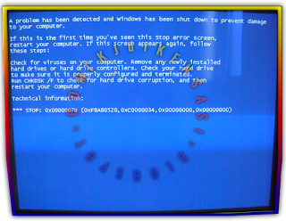 Mengatasi Blue screen INACCESSIBLE_BOOT_DEVICE