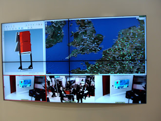 Monitores de video wall