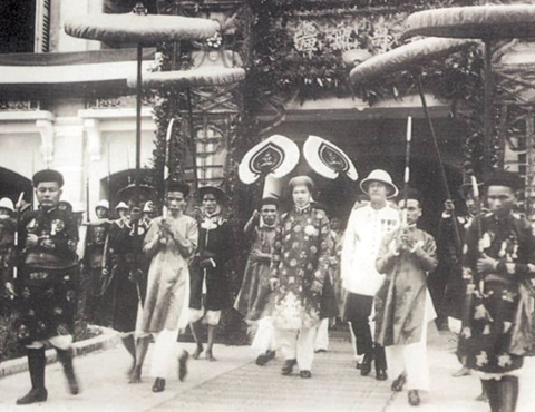 Rare black and white photos of Hue a century ago