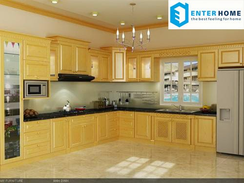 Phòng bếp tân cổ điển enterhome