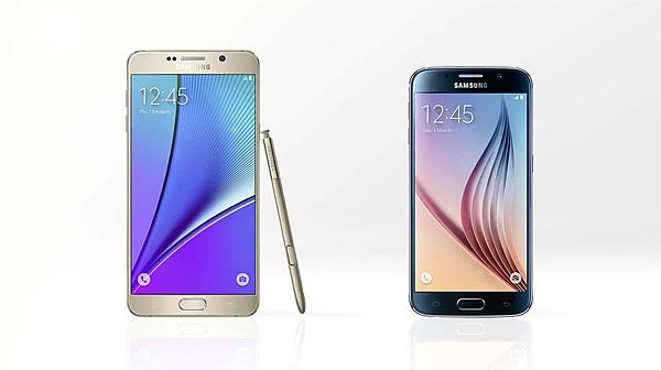 Samsung Galaxy Note 5 Galaxy S6 Karşılaştırması