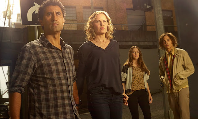 Protagonistas de 'Fear the Walking Dead'