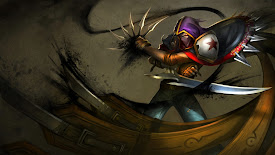 renegade talon skin league of legends lol champion hd wallpaper