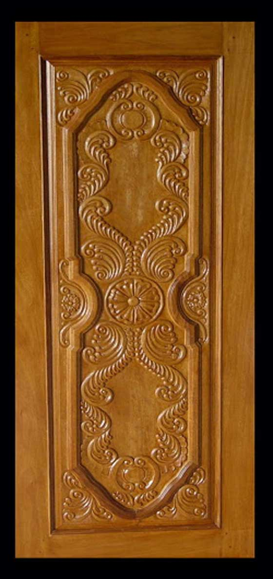 Once Useful Teak Wood Main Door Design In India
