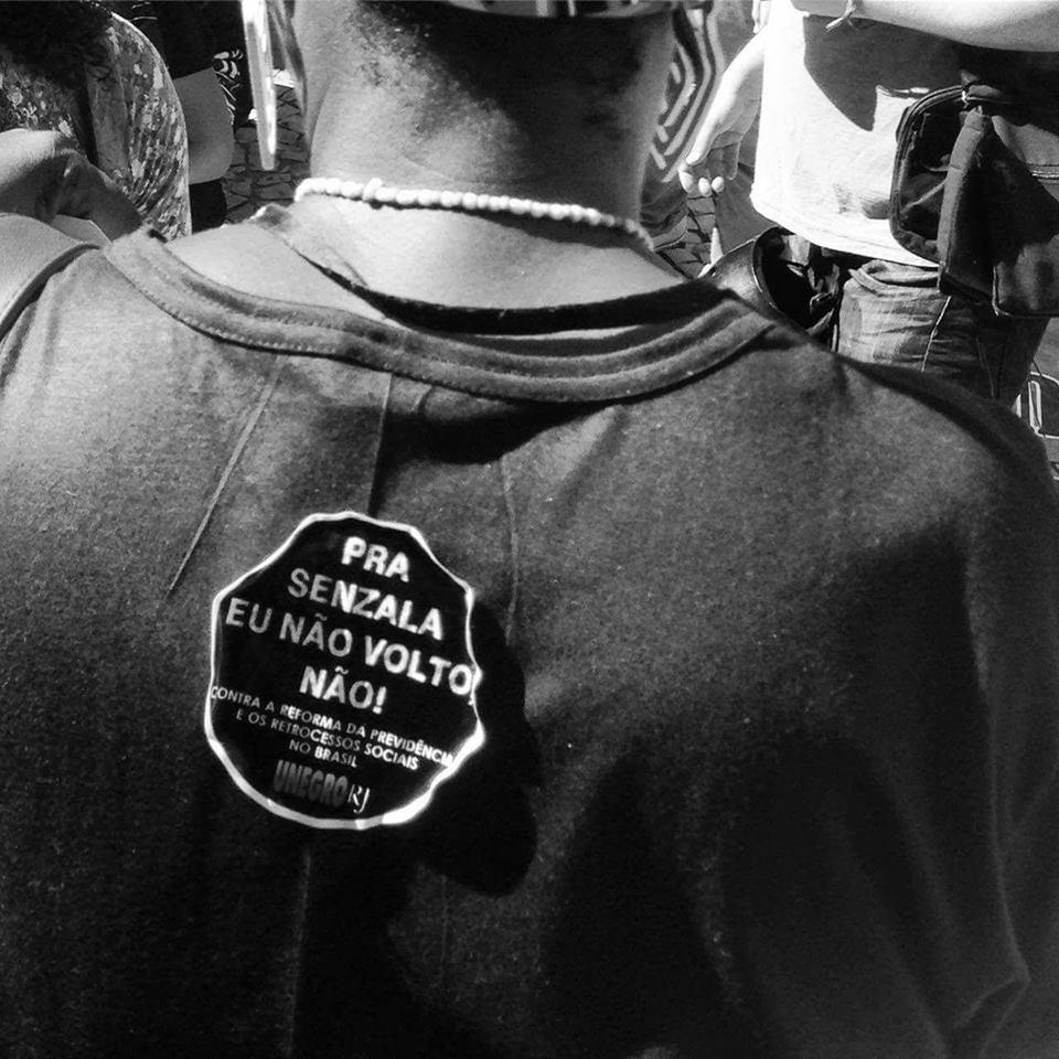 UNEGRORJ na luta e na rua!