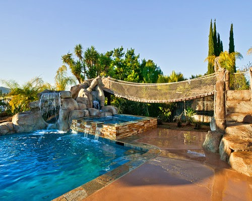 Backyard Pool Playground