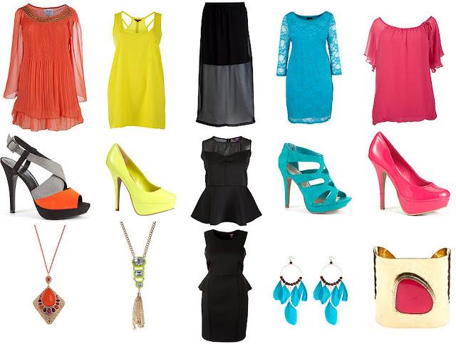 Grote maten mode favorietjes favorieten - Felle kleuren ...