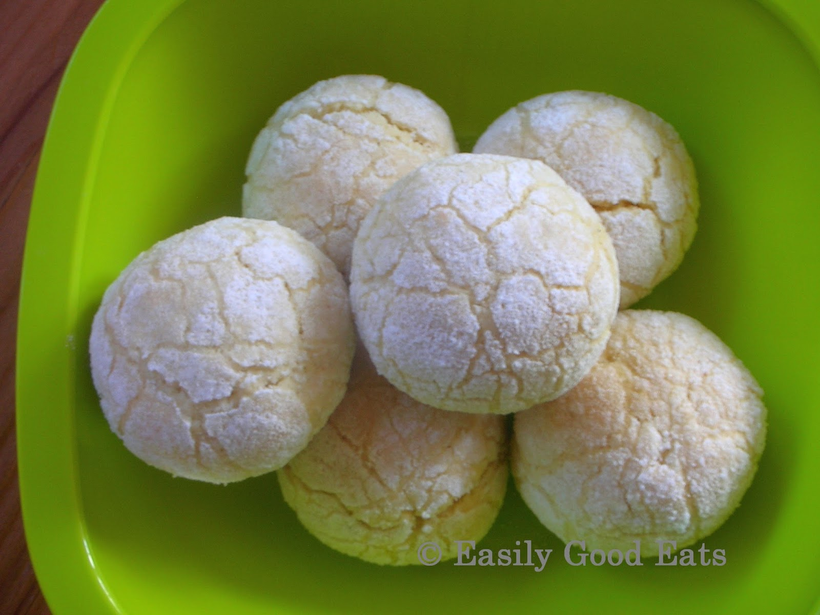Lemon Crinkle Cookie Cake Mix