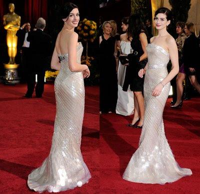 Anne Hathaway Oscars 2009. Anne Hathaway Oscar 2009