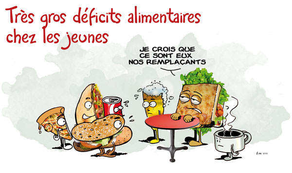 Bouffe Saine Fast Food Prix