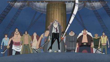 กลุ่มโจรสลัดสควอด (Maelstrom Spider Pirates) @ One Piece