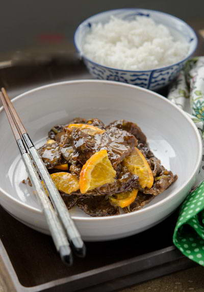 Beef with Orange Sauce Recipe