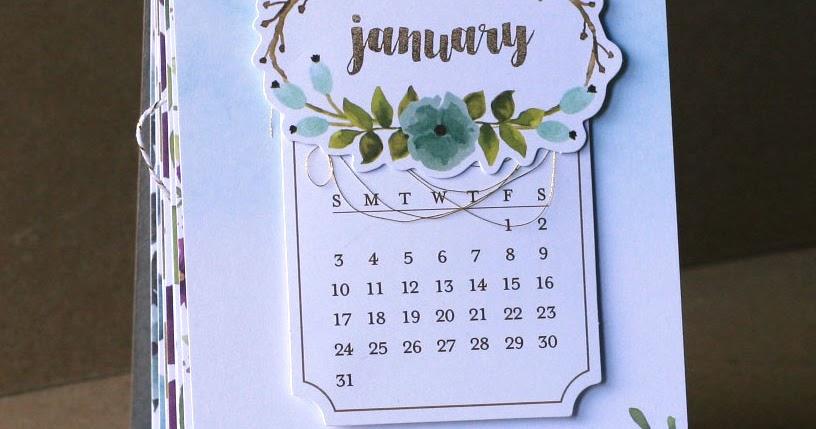 Spiral Bound Stand Up Desk Calendar