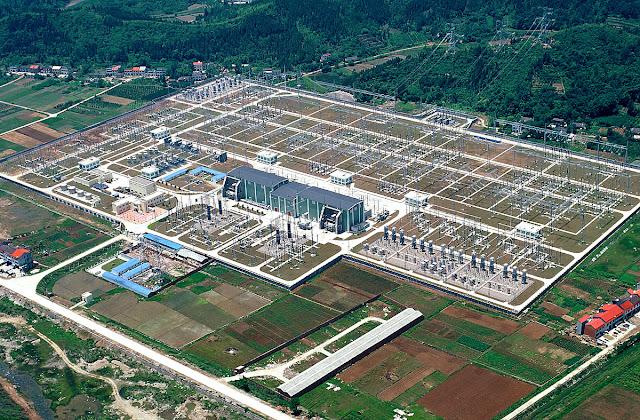 Stacja przekształtnikowa HVDC w Longquan, Chiny