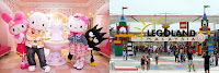 Hello Kitty Town dan Legoland