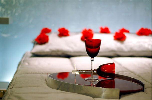 DORMITORIO ROMANTICO PARA ENAMORADOS via www.dormitorios.blogspot.com
