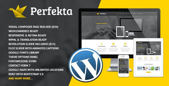 Multipurpose Responsive WordPress Template