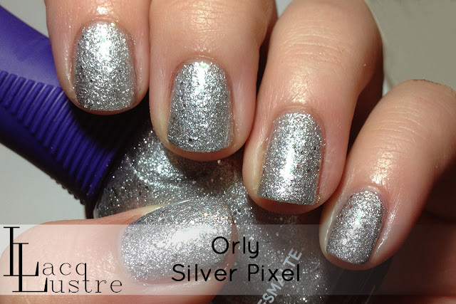 Orly Silver Pixel swatch