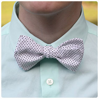 Last-Minute DIY Gifts: Keep 'em looking dapper with a simple handmade bow tie