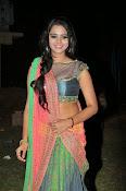 Manasa Glamorous Photos in Half saree-thumbnail-17