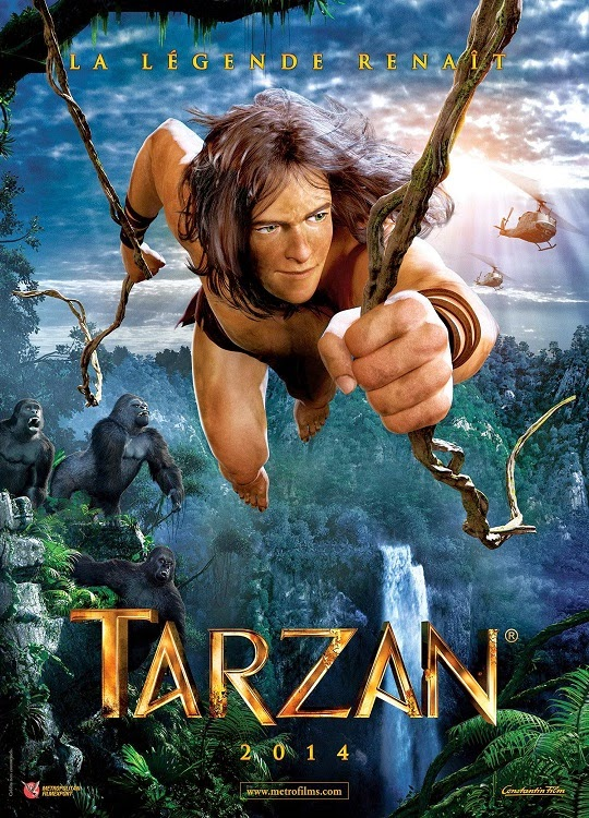 Phim Phiêu Lưu - Hành Động Cậu Bé Rừng Xanh - Tarzan - 2013