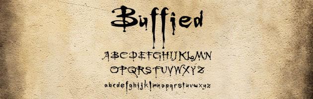 勢いのある筆跡の文字 | ホラーテイストなフリーフォント素材