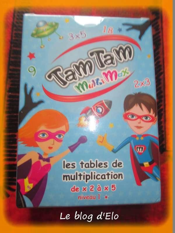 Le blog d 39 elo au coin jeux for Apprendre les tables de multiplication facilement