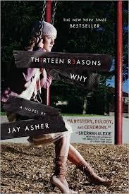http://www.amazon.com/Thirteen-Reasons-Why-Jay-Asher/dp/159514188X