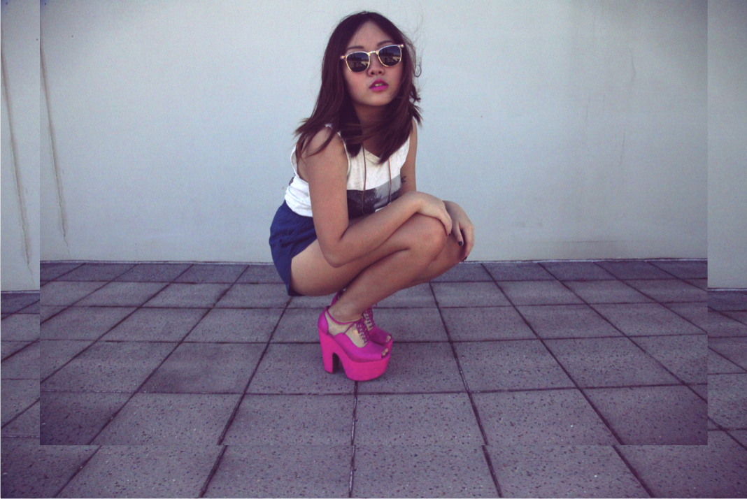 anthea's best hot pink The Carter heels by jeffrey campbell
