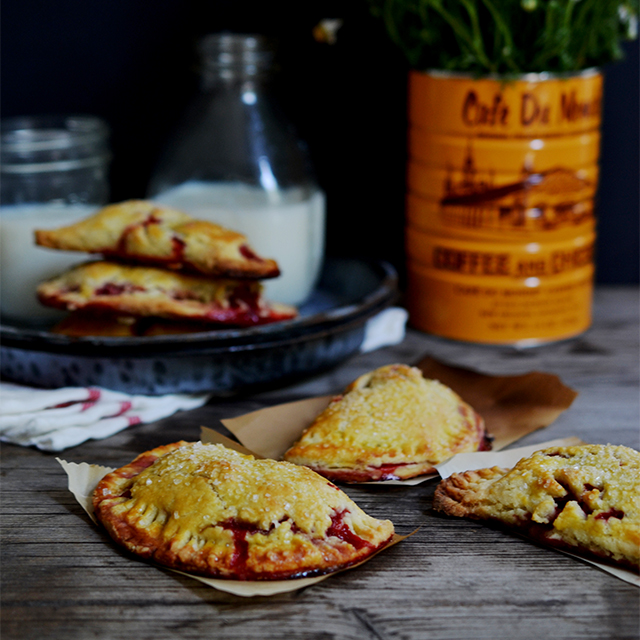 Heart of Gold: Strawberry Hand Pies