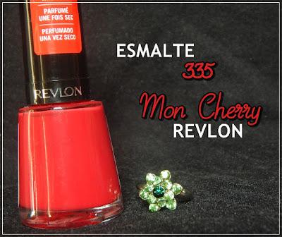 Esmalte 335 Mon Cherry