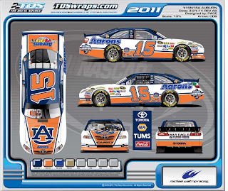 Unfunny April Fools Jokes (?): Auburn sponsoring Darrel Waltrip at Talladega?
